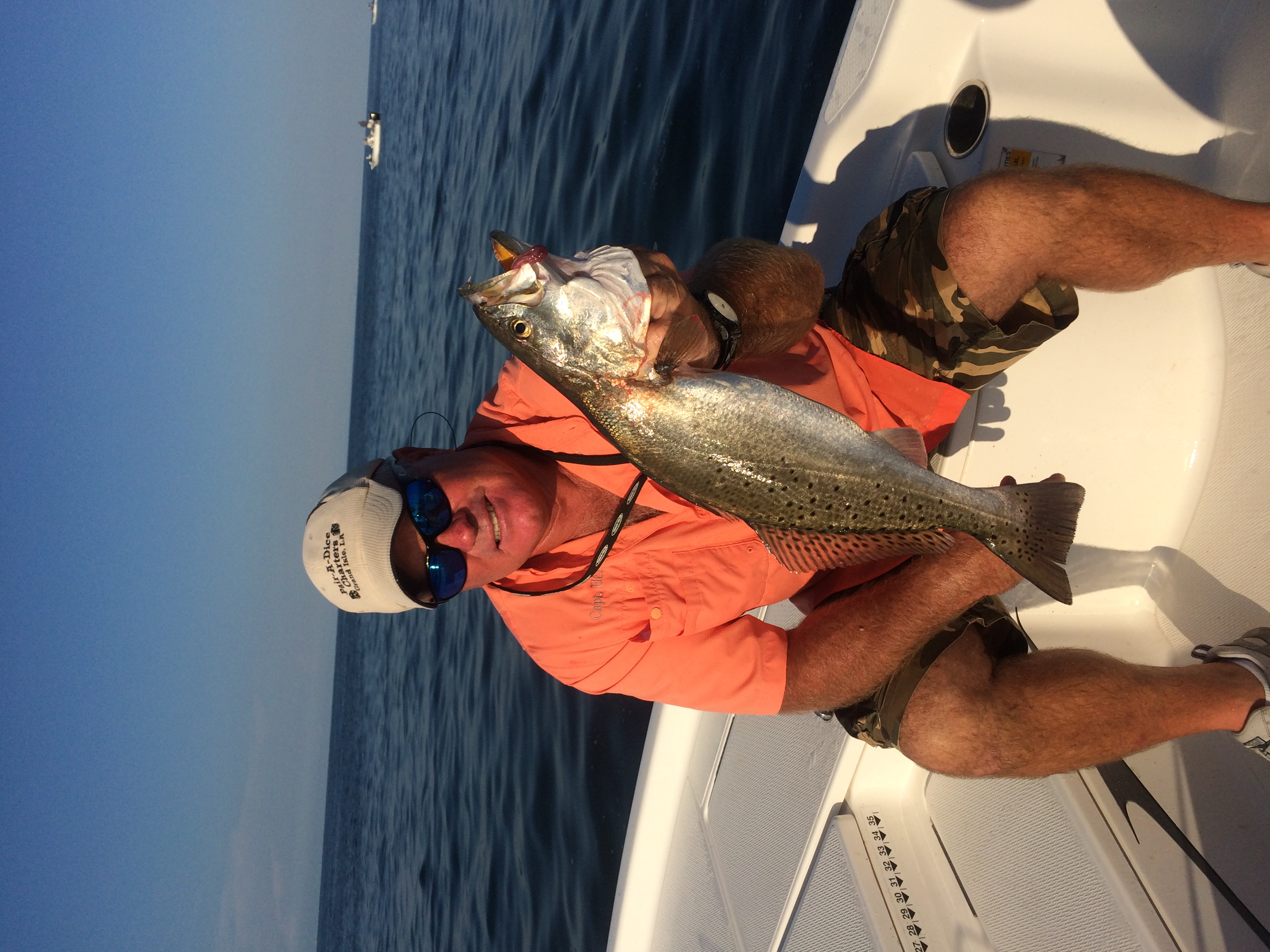 Pair a dice charter grand isle fishing for Fishing charters grand isle la